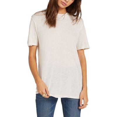 Volcom Tern N Bern Longline T-Shirt, White