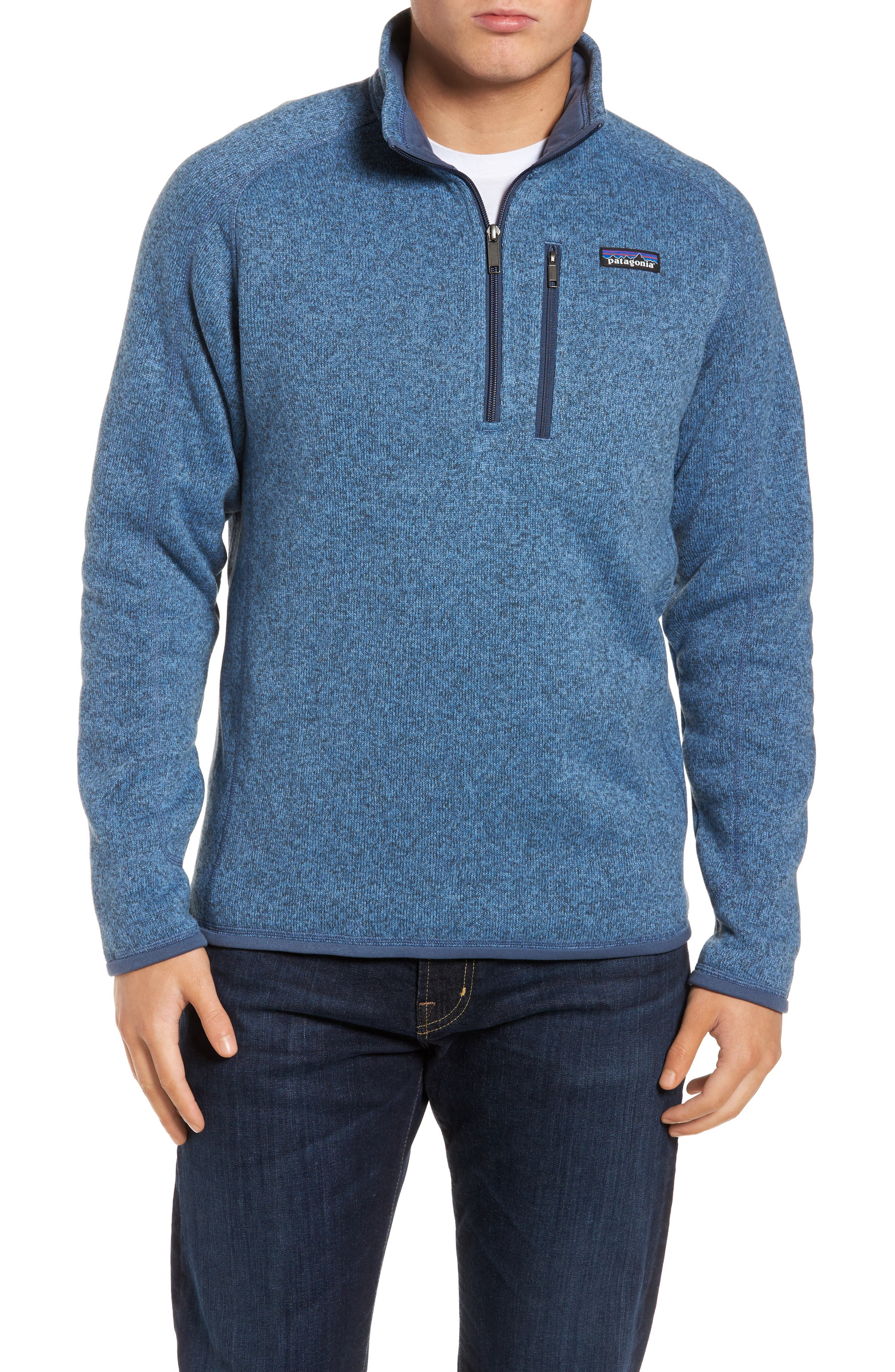 ,                             Better Sweater Quarter Zip Pullover,                             Main thumbnail 57, color,                             409
