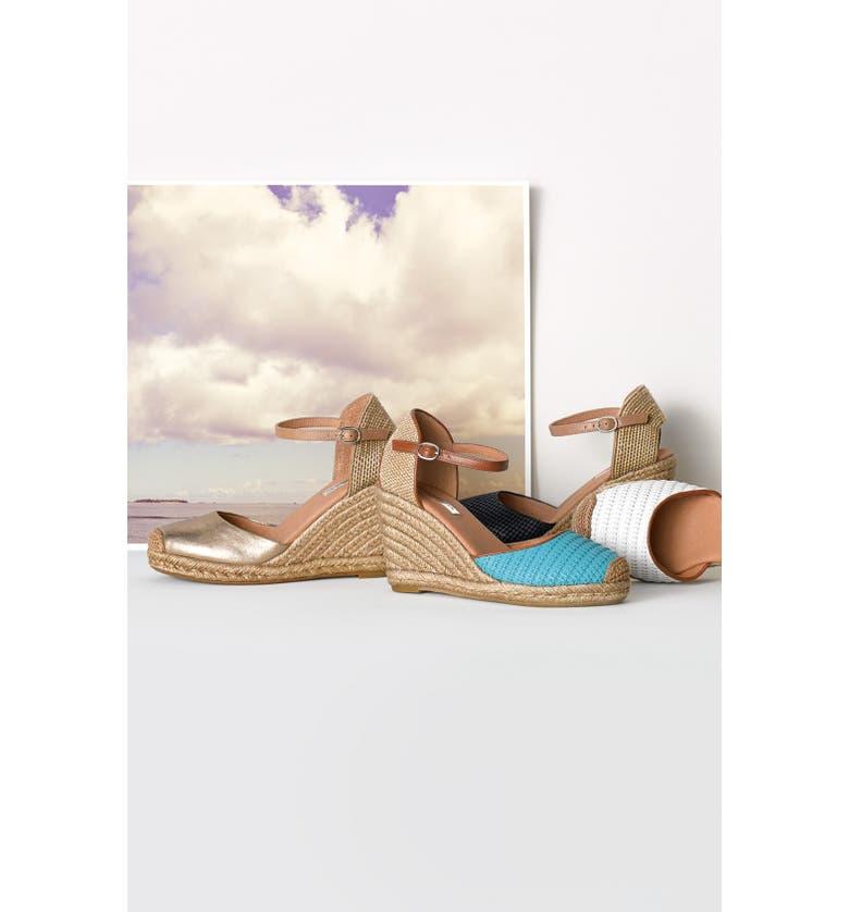 HALOGEN<SUP>®</SUP> 'Sandra' Wedge Espadrille, Main, color, 001