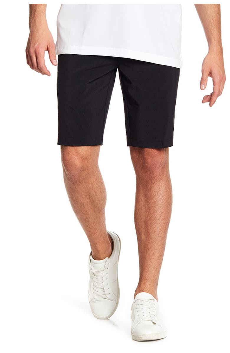 CALLAWAY GOLF Opti-Dry Stretch Solid Shorts, Main, color, CAVIAR