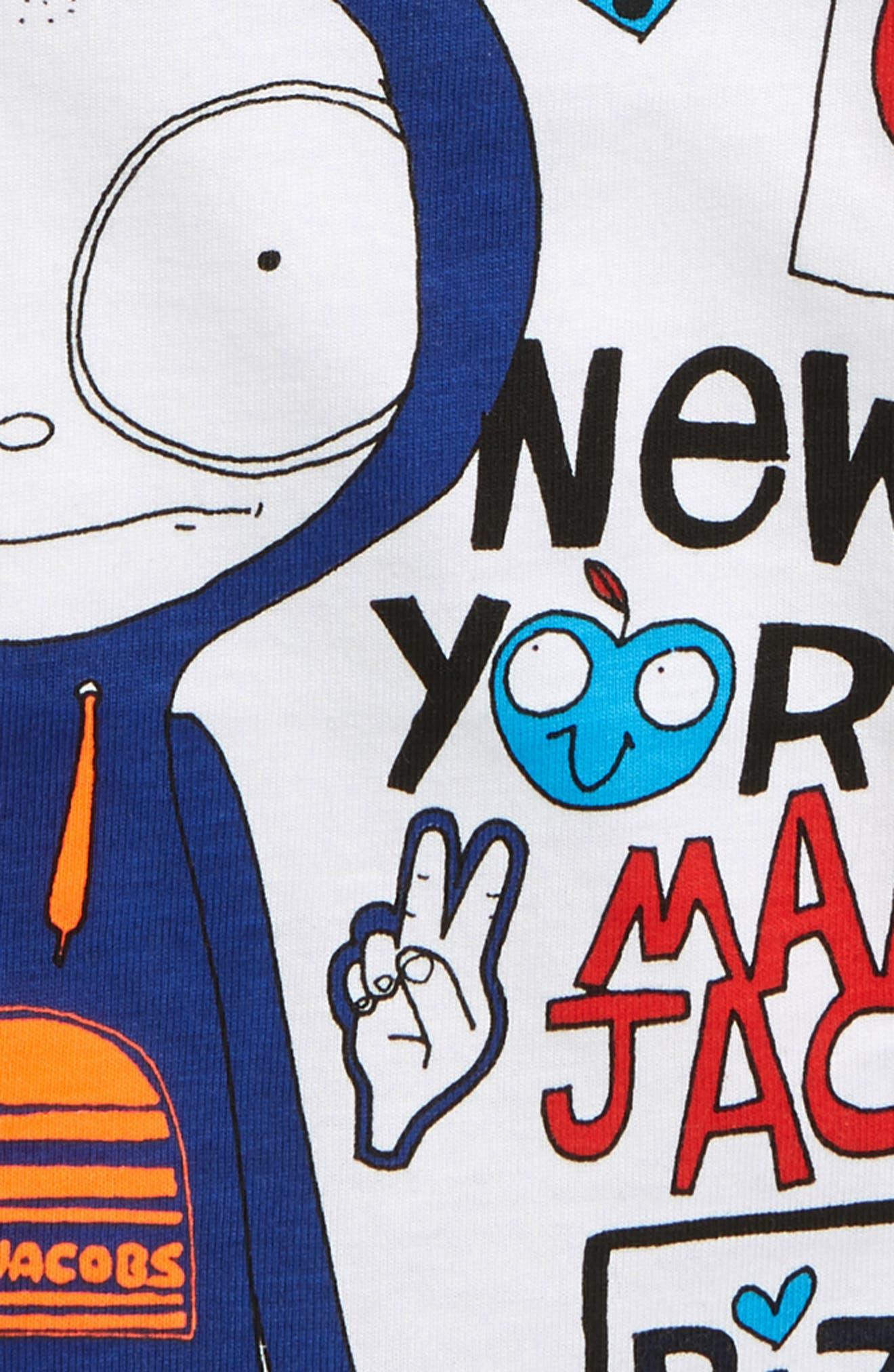 ,                             Mr. Marc Graphic T-Shirt,                             Alternate thumbnail 2, color,                             BLANC