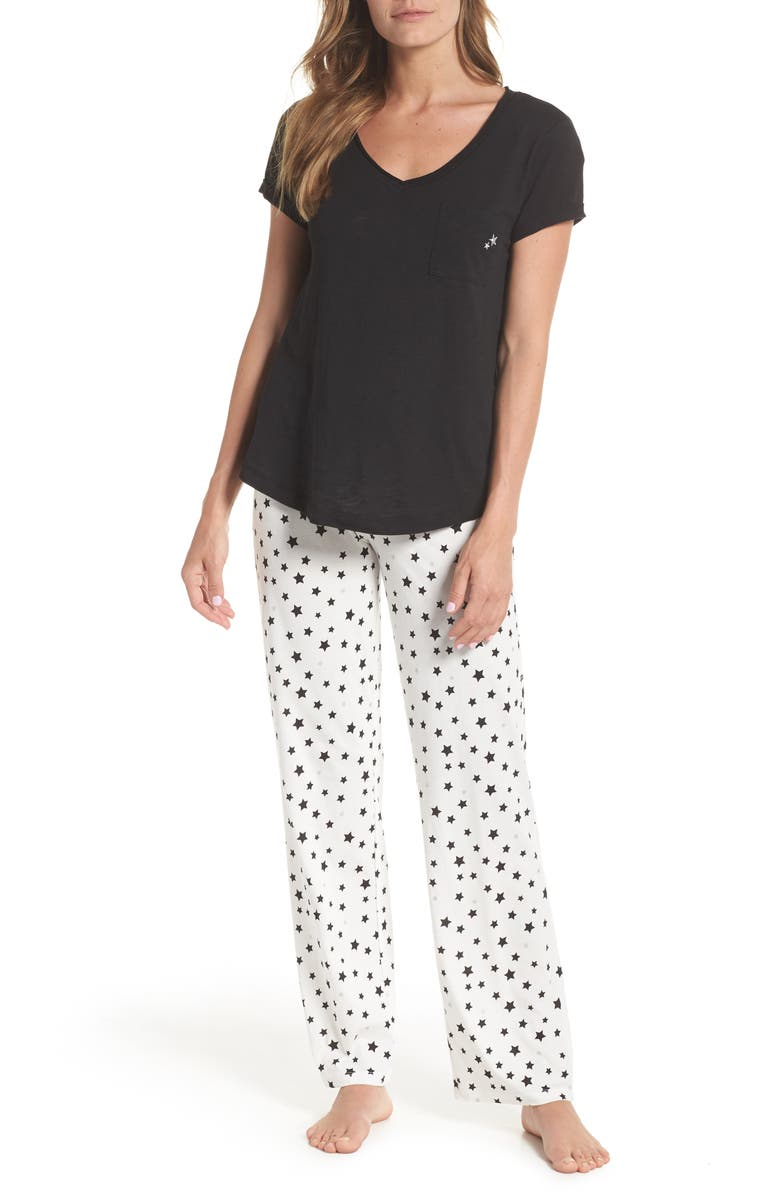 PJ SALVAGE I Heart Sleep Pajamas, Main, color, 008