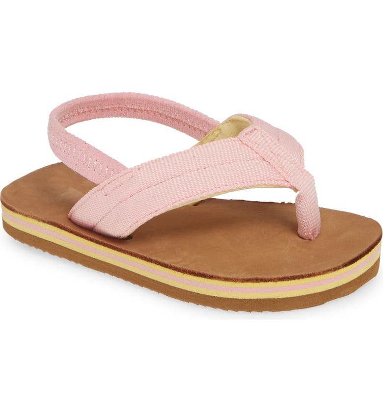 HARI MARI Scouts Thong Sandal, Main, color, LIGHT PINK/ TAN
