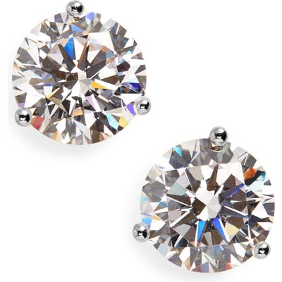 Nordstrom 4Ct Tw Cubic Zirconia Earrings