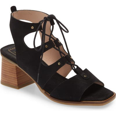 Hispanitas Grace Cage Sandal, Black
