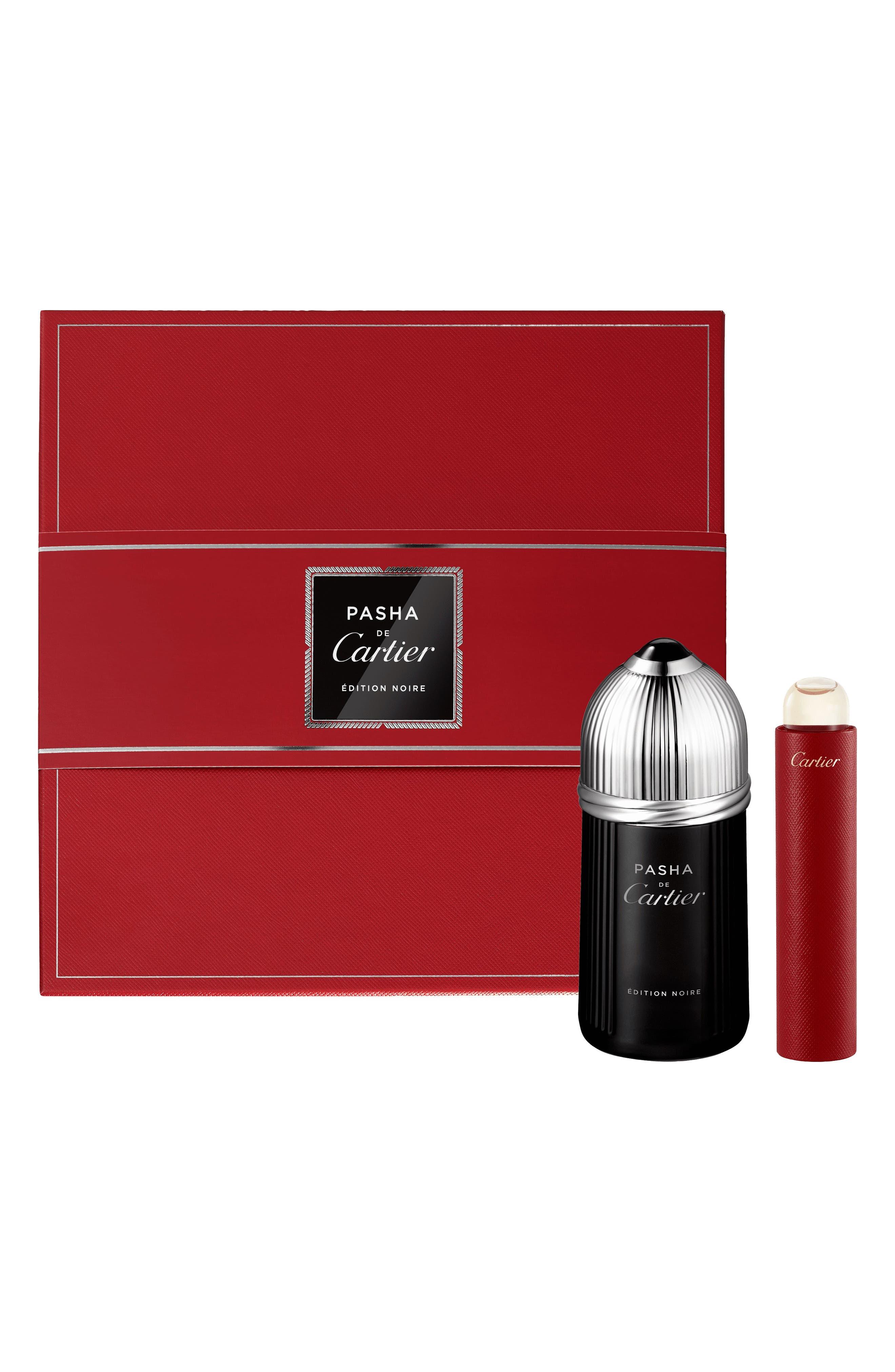 Cartier Pasha De Cartier Edition Noire Eau De Toilette Set ($112 Value)