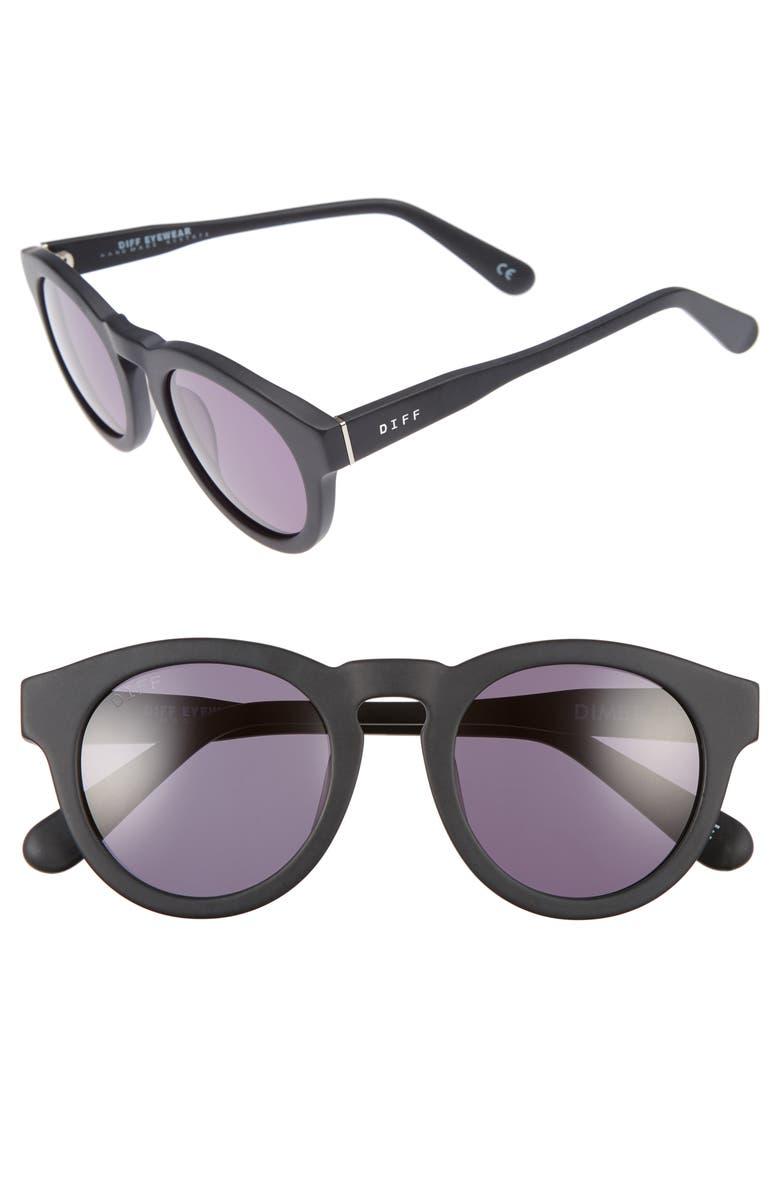 DIFF Dime II 48mm Retro Sunglasses, Main, color, 020