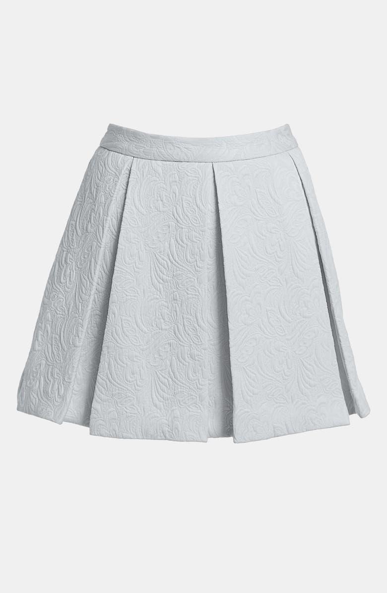 TILDON Full Box Pleat Skirt, Main, color, 050