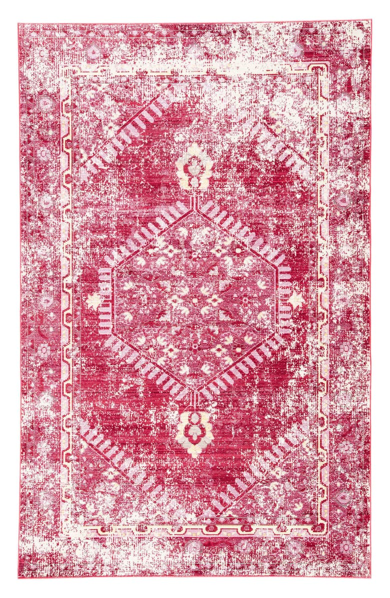 JAIPUR Persia Lux Rug, Main, color, DISTRESSED RED
