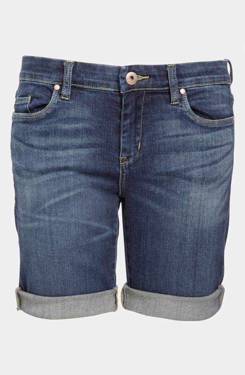 BLANKNYC 'Roll Up' Jean Shorts, Main, color, BLUE