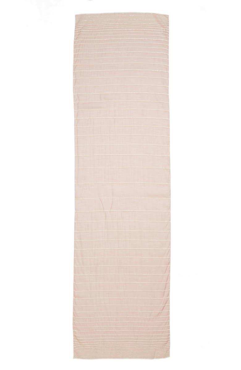 MAX MARA Attuale Stripe Scarf, Main, color, 250