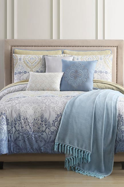 Image of Modern Threads Queen Dresden Comforter/Coverlet Set - Multi