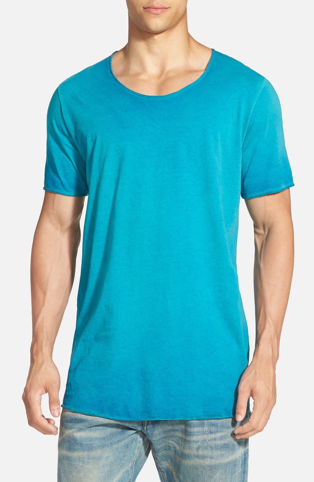 ,                             U-Neck T-Shirt,                             Main thumbnail 1, color,                             430