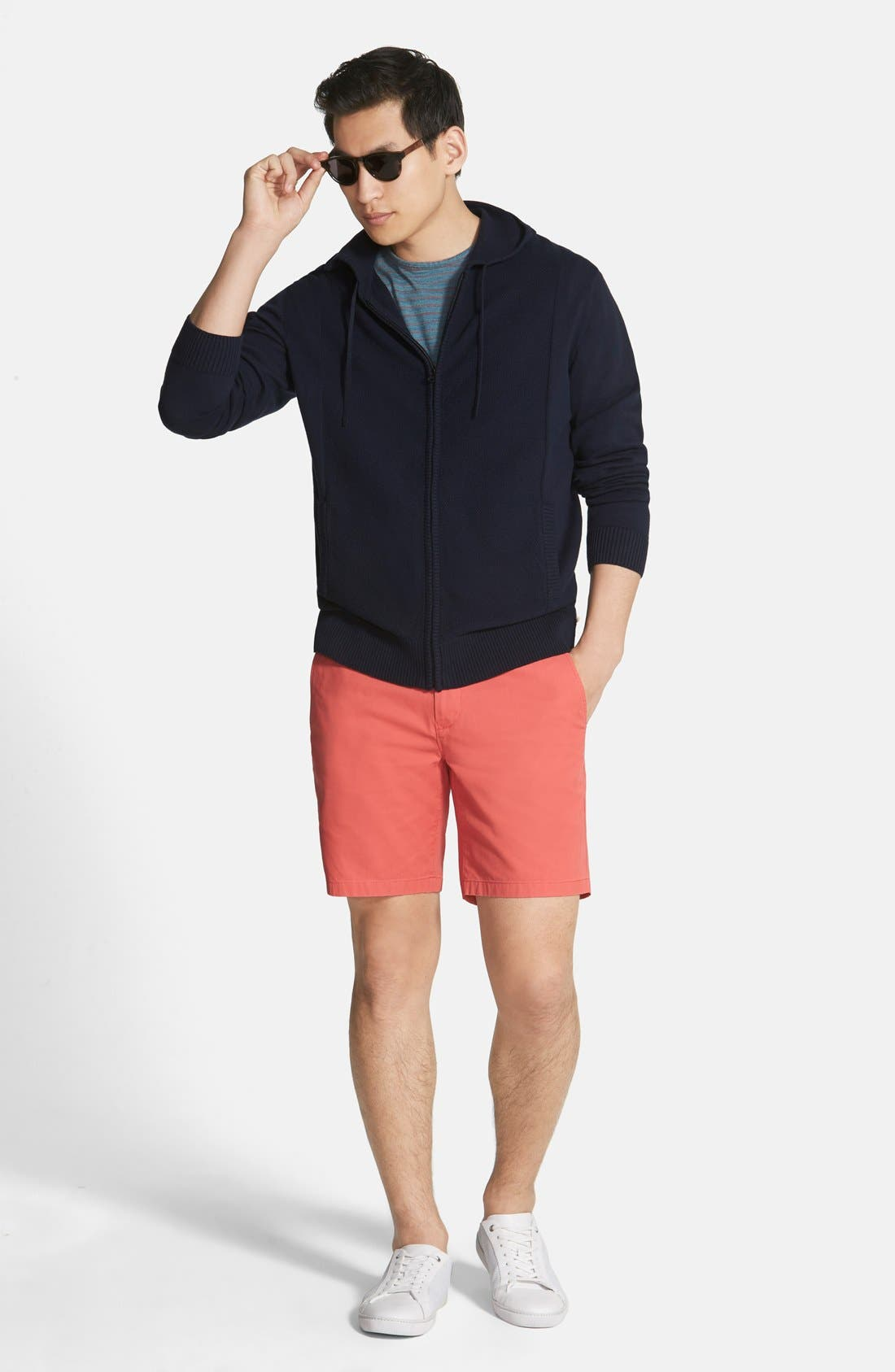 ,                             Washed Chino Shorts,                             Alternate thumbnail 79, color,                             600