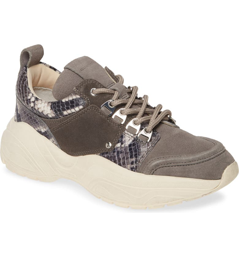 ALLSAINTS Tamaya Sneaker, Main, color, CHARCOAL GREY