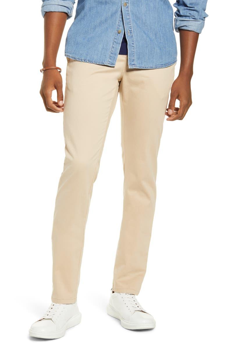 BP. x Alex Costa Skinny Chino Pants, Main, color, BEIGE HUMUS