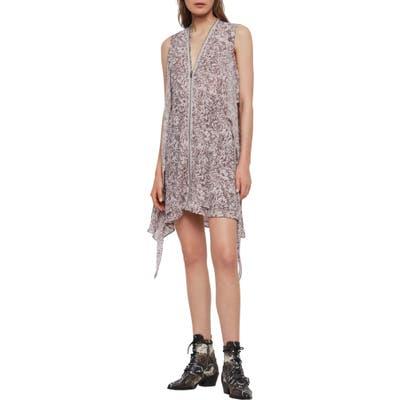 Allsaints Jayda Rosey Sleeveless Dress, Pink
