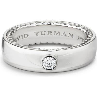 David Yurman Streamline Band Ring With Diamond, m