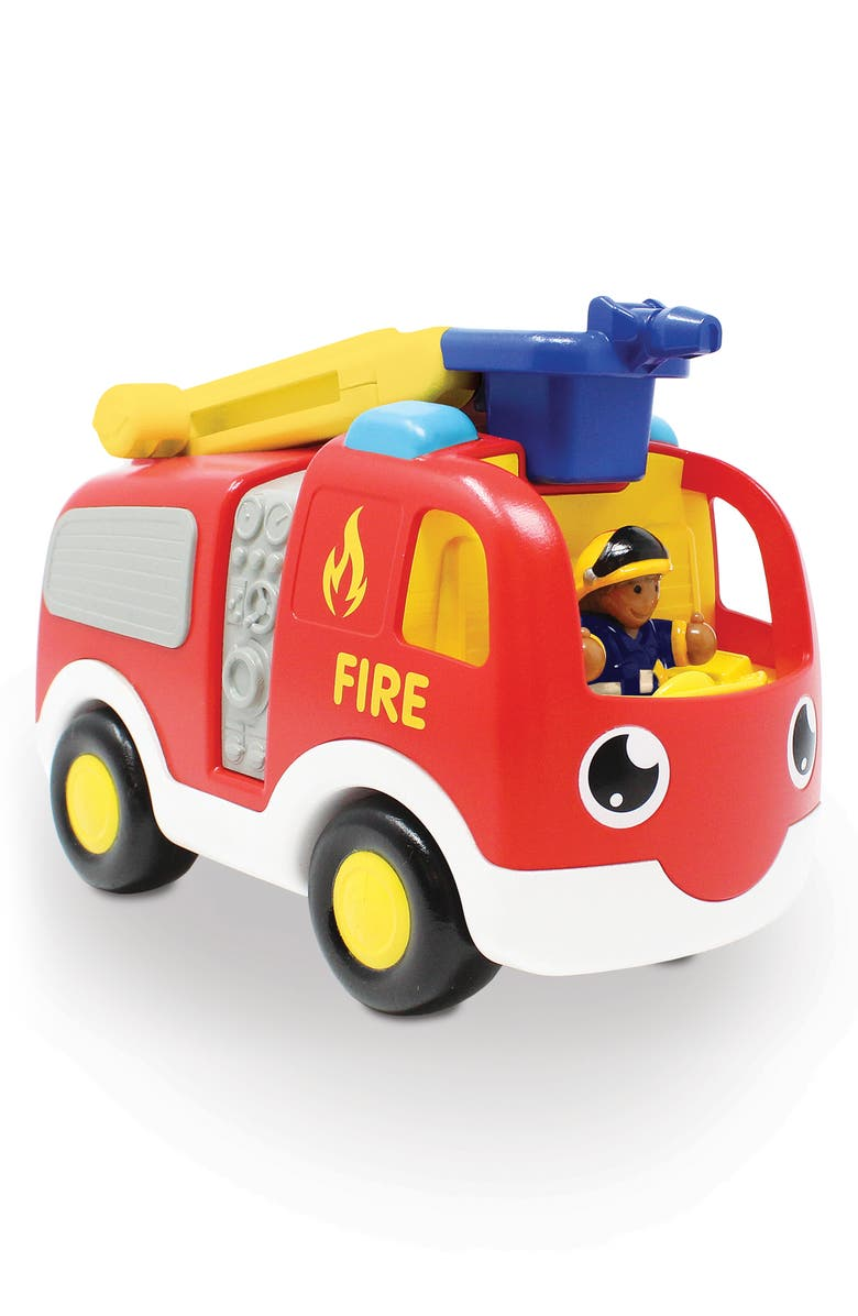 WOW TOYS Ernie Fire Engine, Main, color, RED