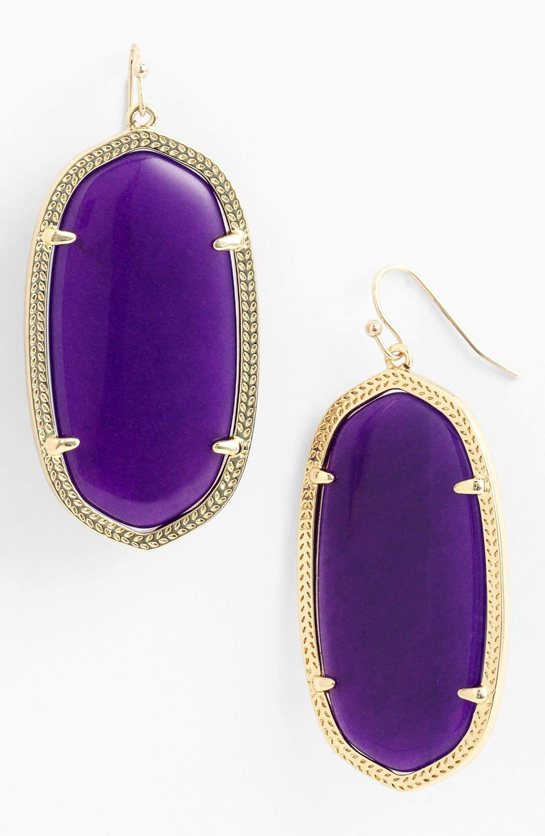 ,                             'Danielle' Oval Statement Earrings,                             Main thumbnail 44, color,                             505
