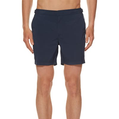 Orlebar Brown Bulldog Sport Swim Trunks, Blue
