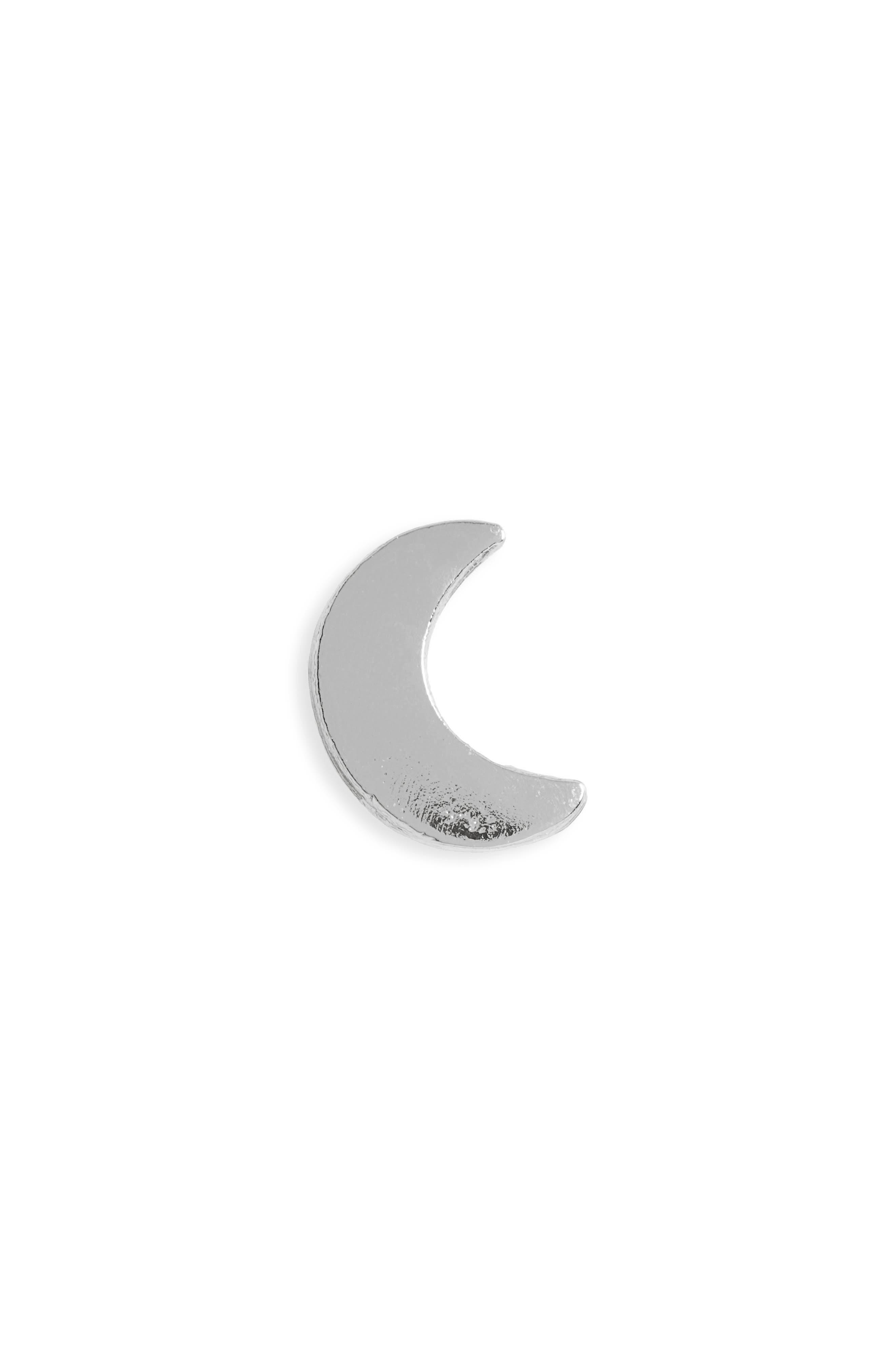 Little Moon Stud Earrings