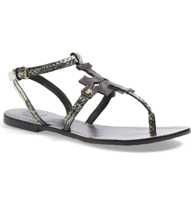 TORY BURCH 'Chandler' Leather Sandal, Main, color, 200
