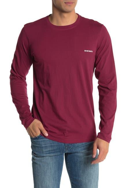 Image of Diesel Justin Long Sleeve Lounge T-Shirt