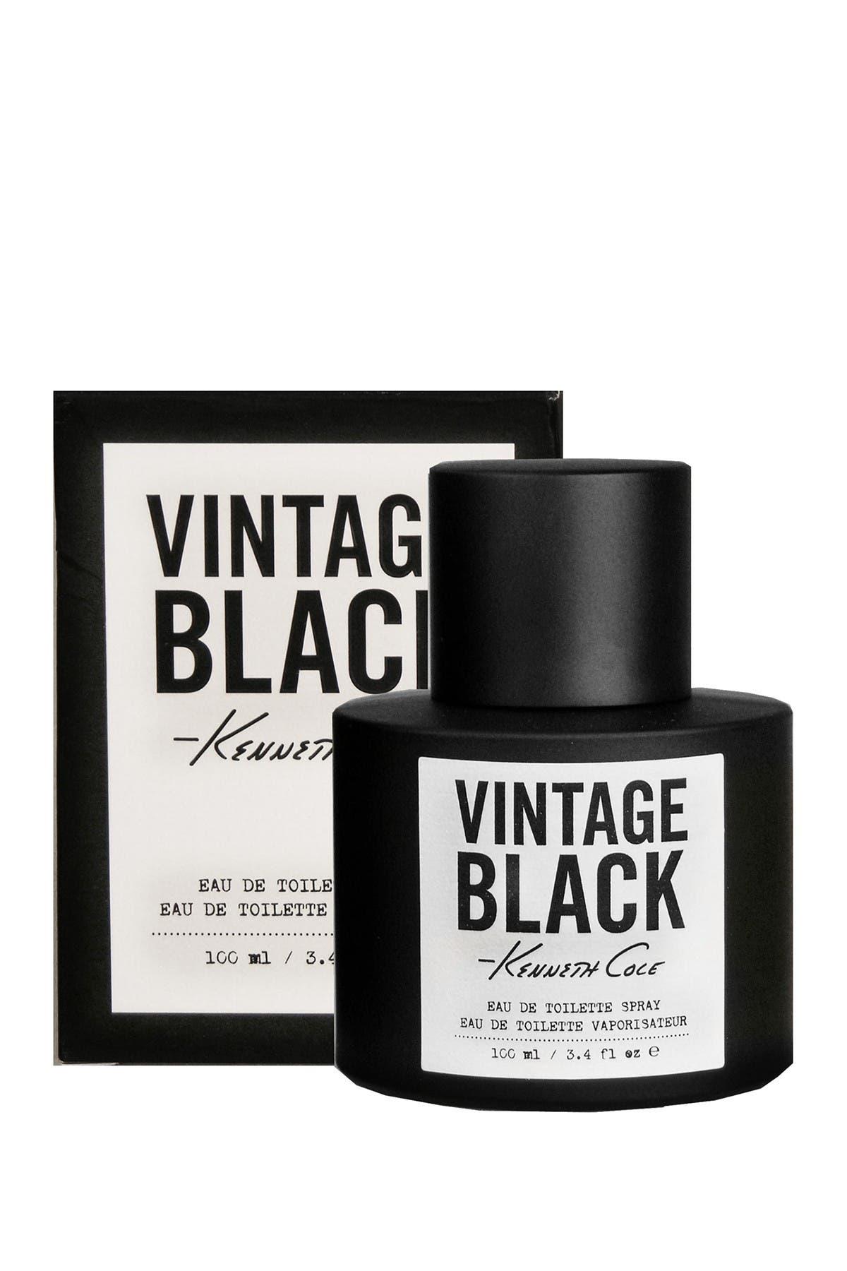 Image of KENNETH COLE BLACK LABEL Kenneth Cole Vintage Black Eau de Toilette Spray - 3.4 fl. oz.