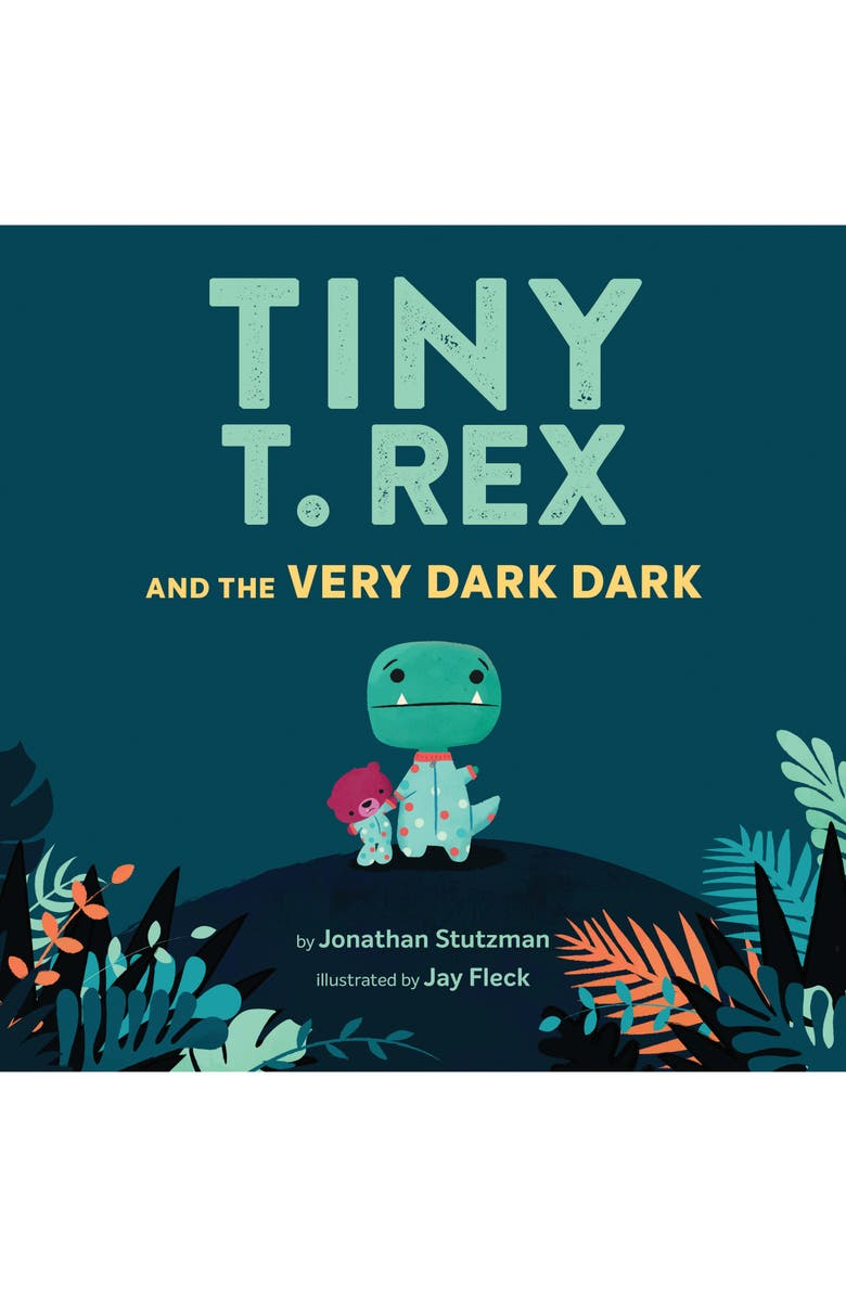 CHRONICLE BOOKS 'Tiny T. Rex and the Very Dark Dark' Book, Main, color, MULTI