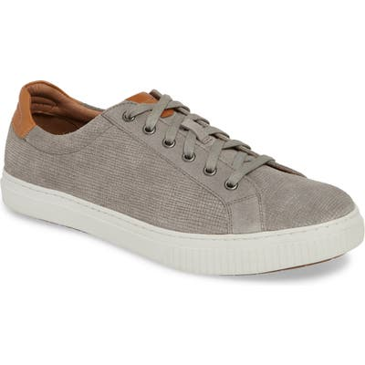 J & m 1850 Toliver Low Top Sneaker- Grey