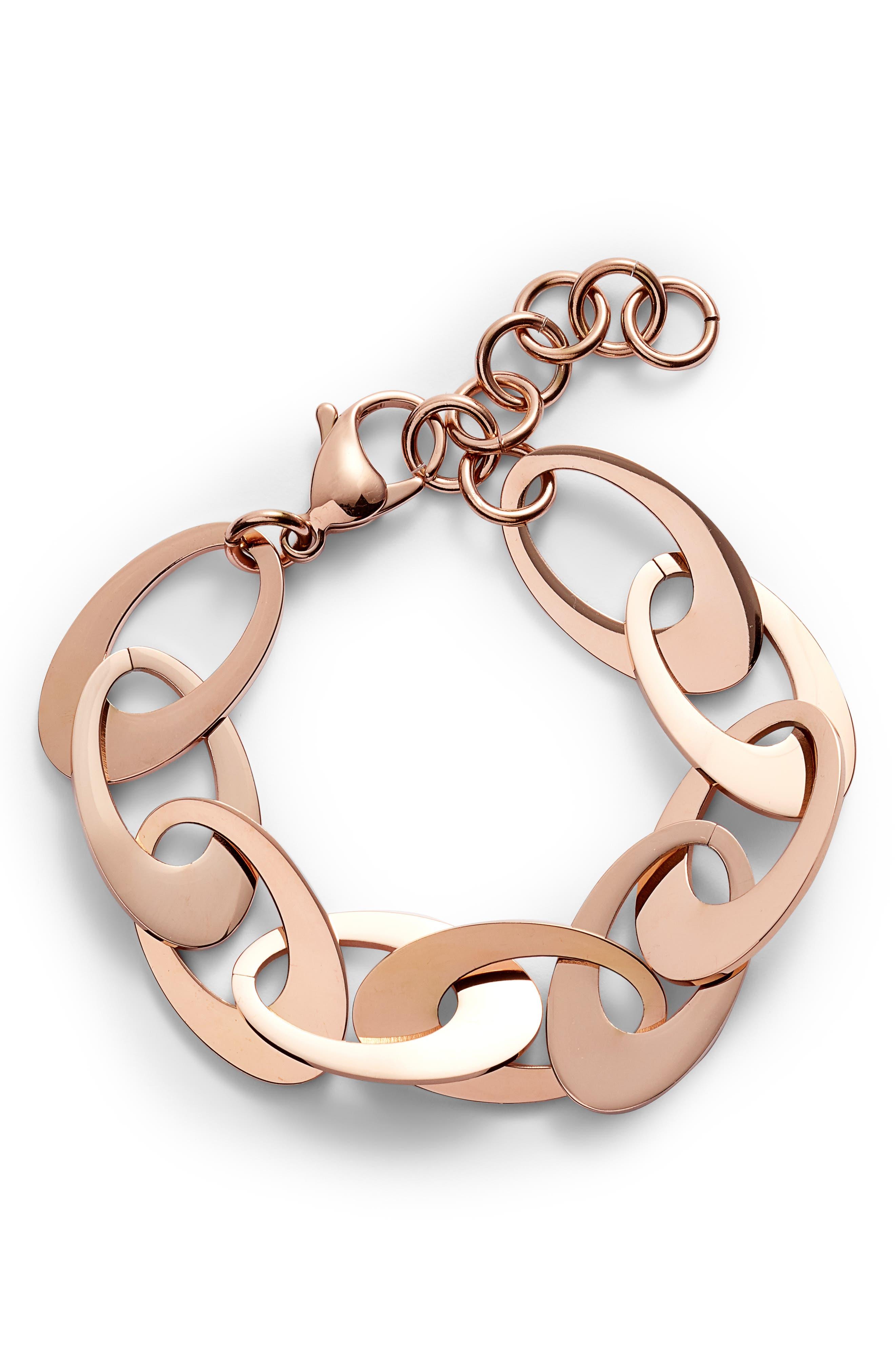 Flat Disk Bracelet