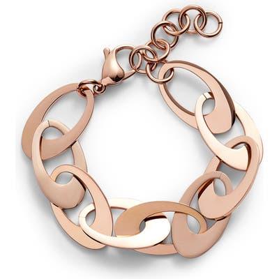 Knotty Flat Disk Bracelet