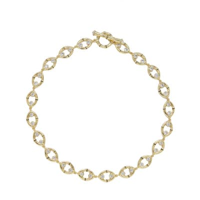 Ettika Oval Link Necklace