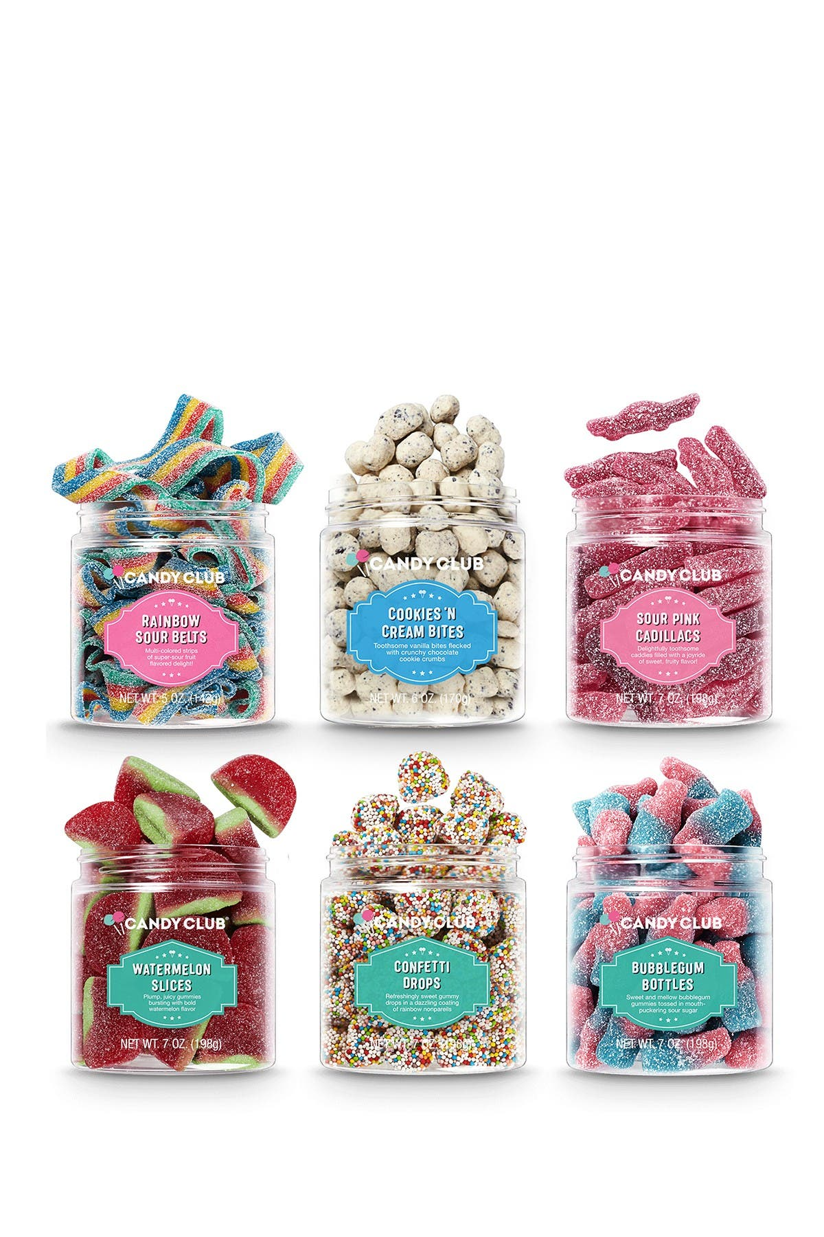 Image of Candy Club Tarty Party 6-Piece Set