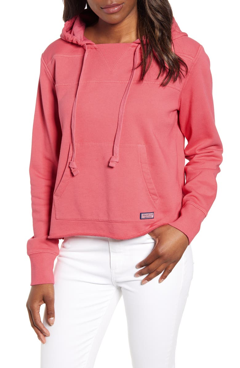 VINEYARD VINES Overdyed Beach Shep Cotton Hoodie, Main, color, 628