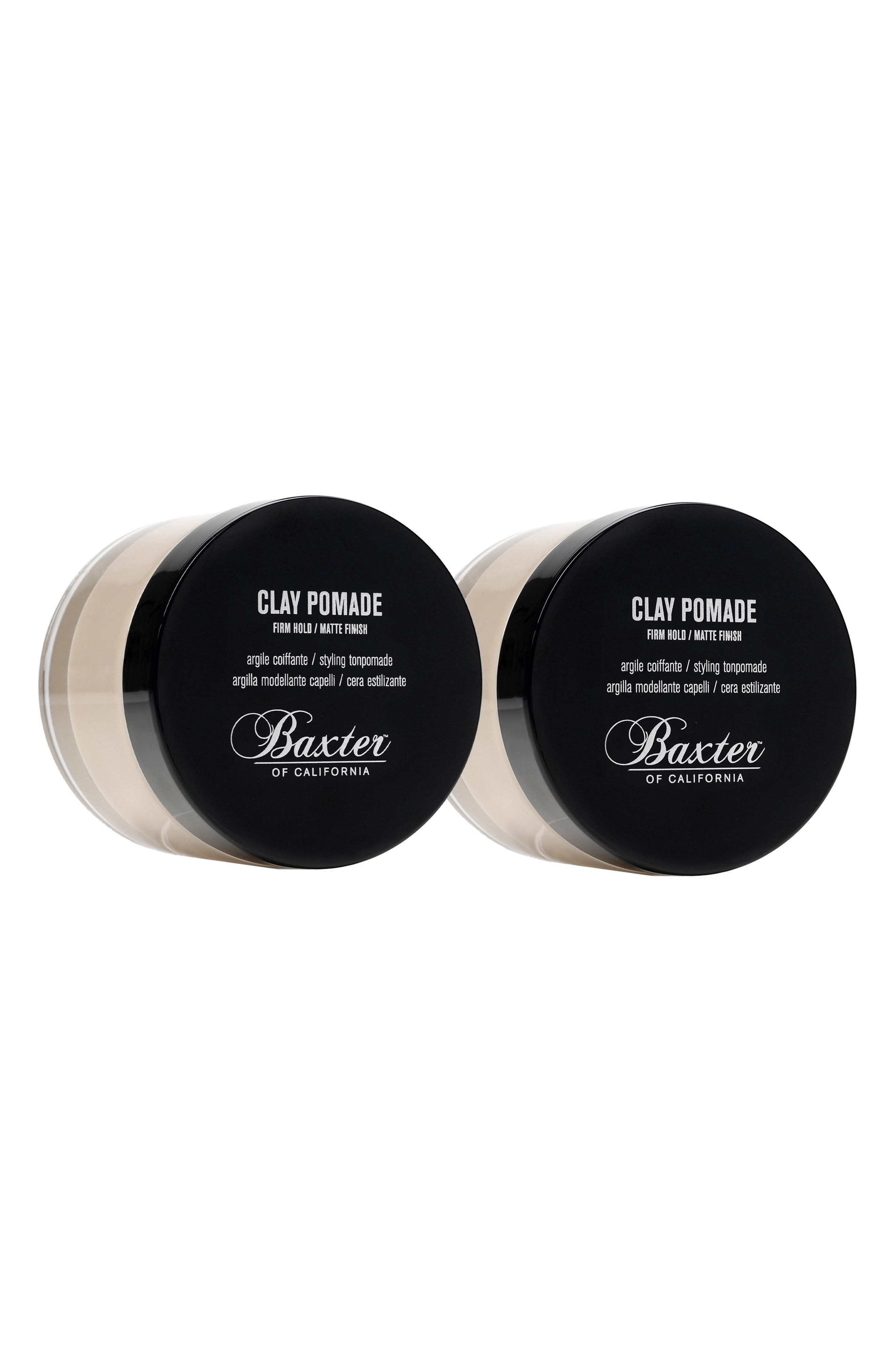 Clay Pomade Duo-$46 Value