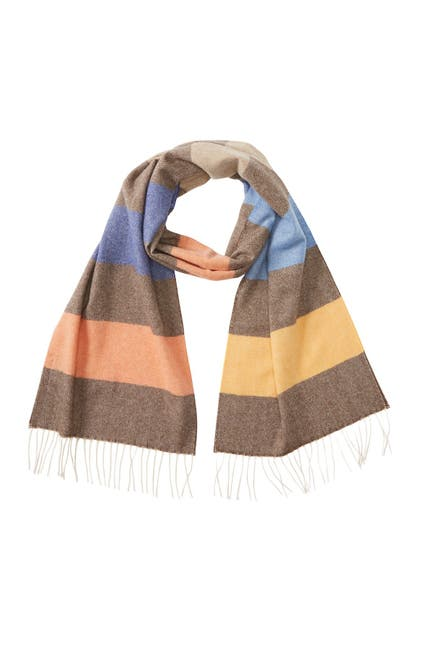 Image of Chelsey Imports Candy Stripe Cashmere Scarf
