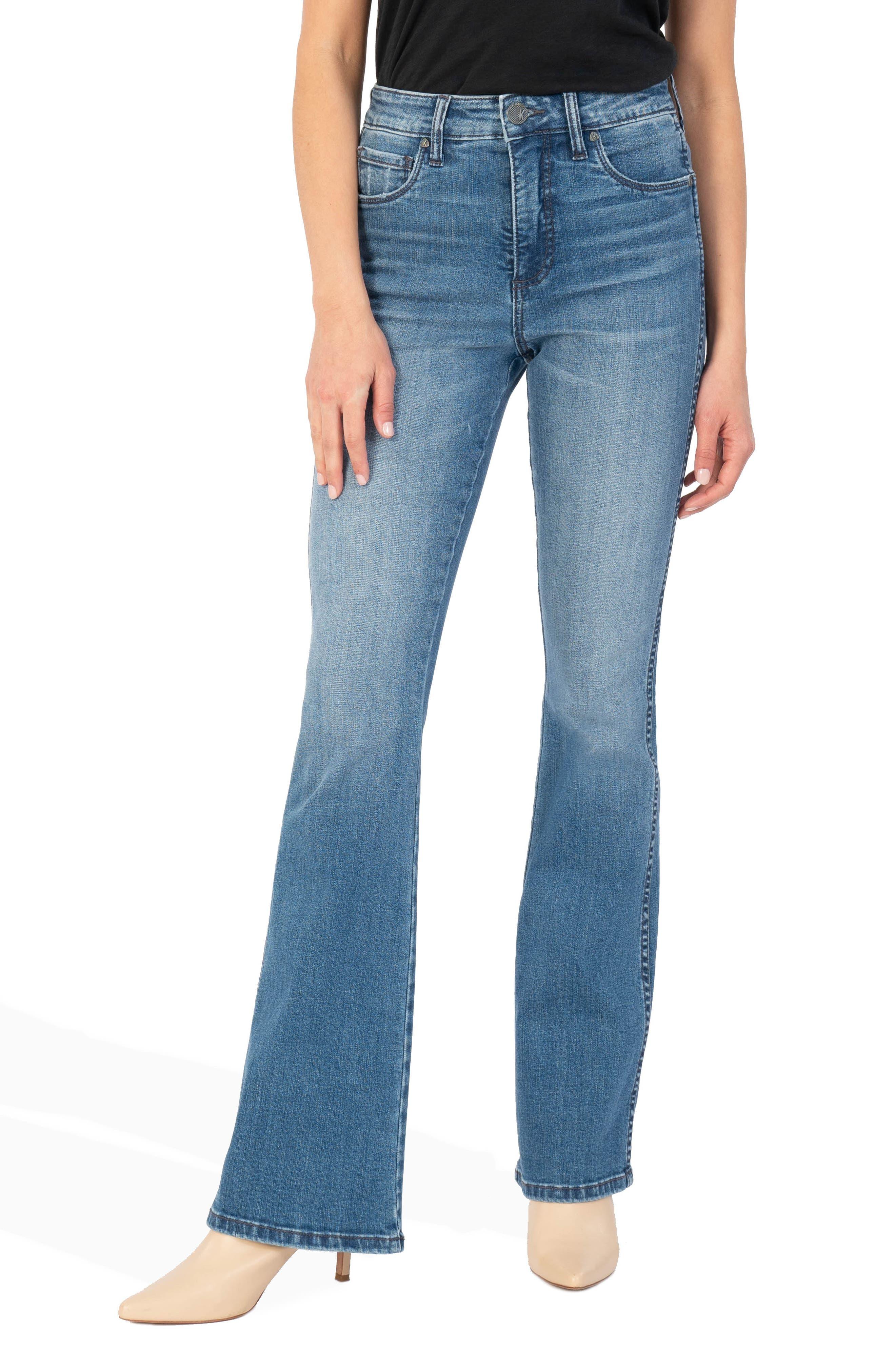 Ana Fab Ab High Waist Flare Jeans