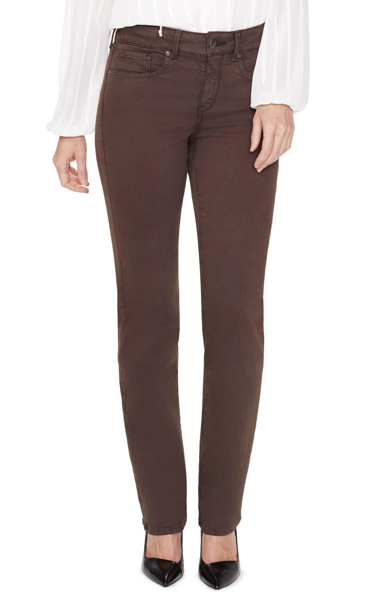 NYDJ Marilyn Straight Leg Stretch Jeans, Main, color, 217