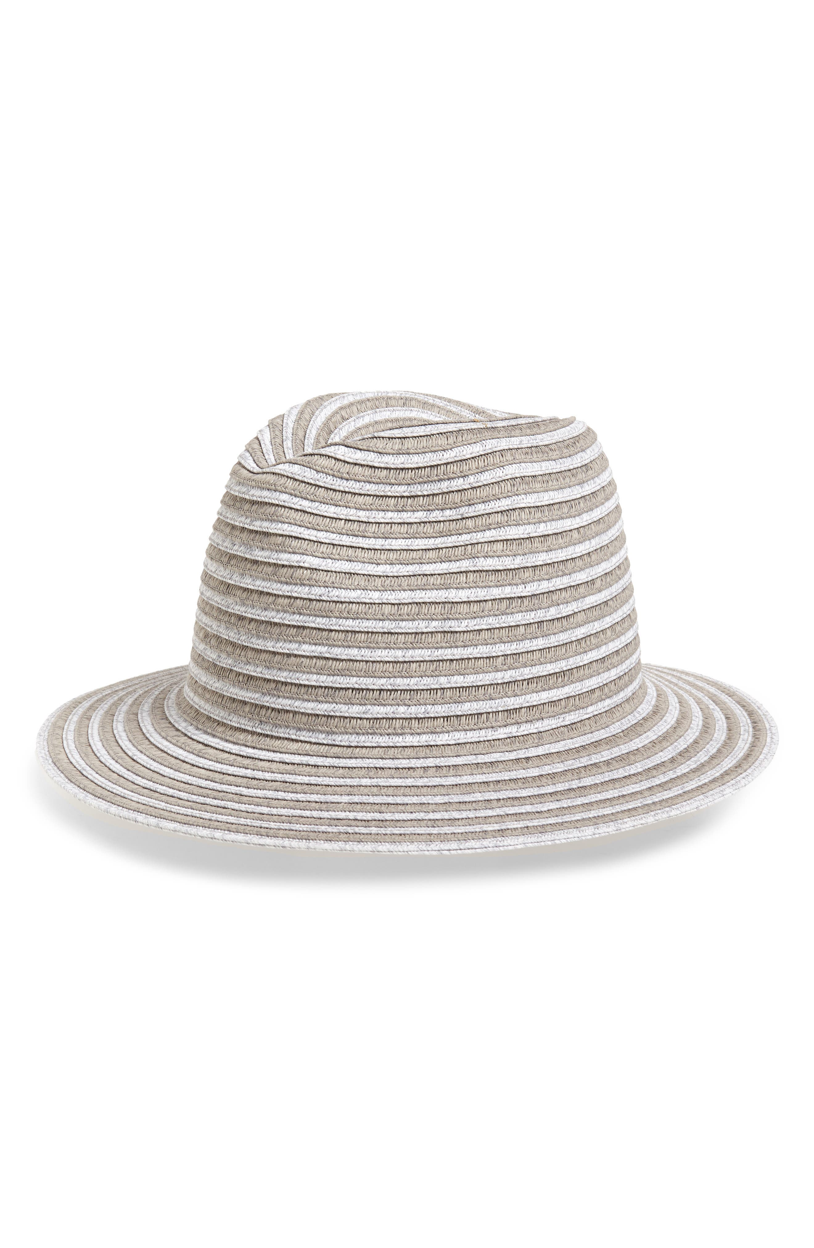 Textured stripes amplify the classic style of this outfit-making woven straw Panama hat. When you buy Treasure & Bond, Nordstrom will donate 2.5% of net sales to organizations that work to empower youth. Style Name: Treasure & Bond Stripe Panama Hat. Style Number: 5987734. Available in stores.