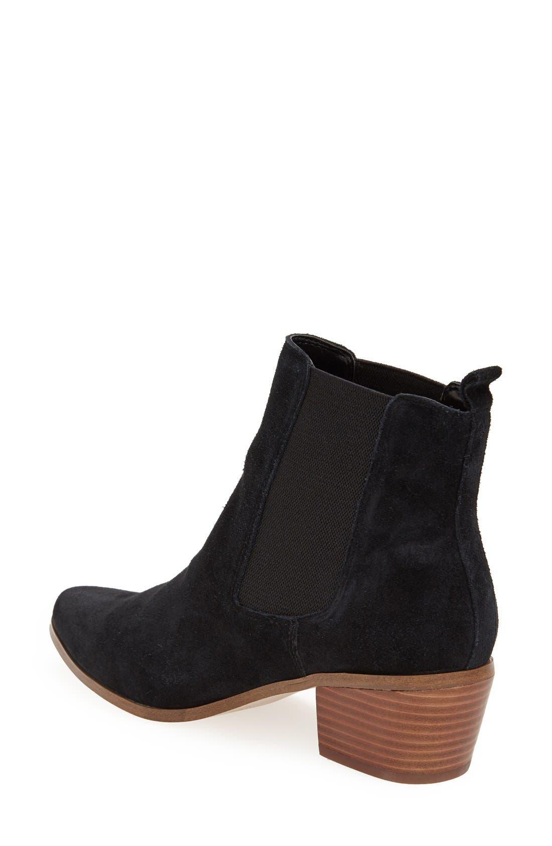 ,                             'Annex' Chelsea Ankle Boot,                             Alternate thumbnail 3, color,                             001