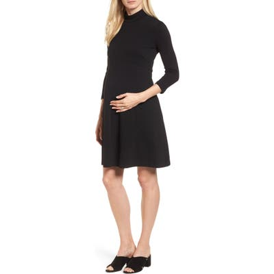 Isabella Oliver Kennett Maternity Dress, Black