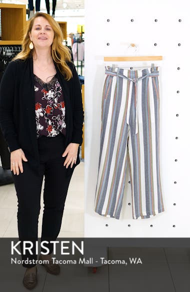 Stripe Paperbag Pants, sales video thumbnail