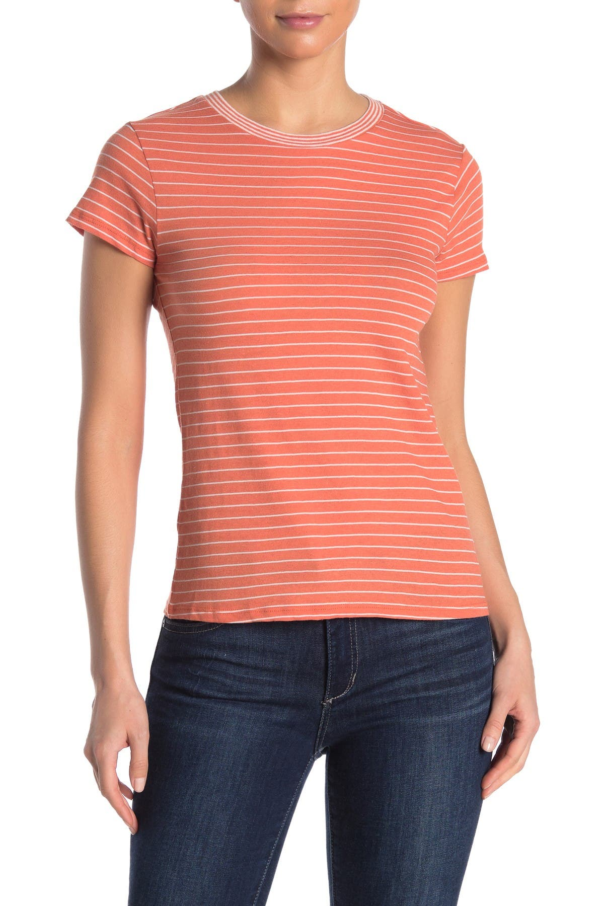 Image of FAHERTY BRAND Didion Striped T-Shirt