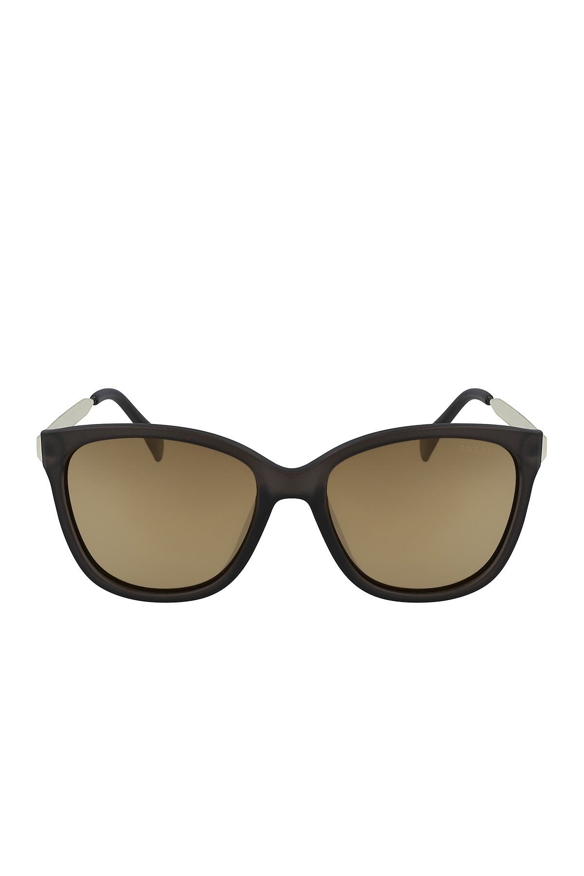 Image of Cole Haan 57mm Sleek Square Sunglasses