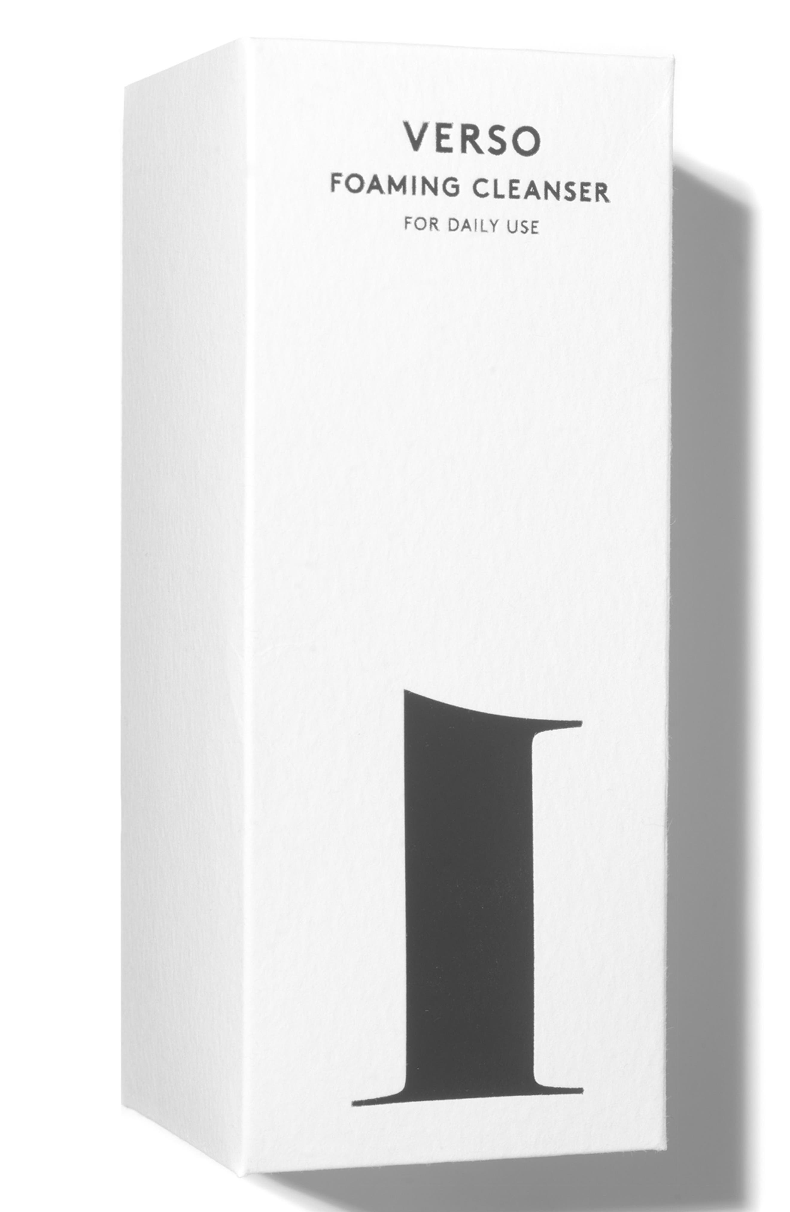 ,                             SPACE.NK.apothecary Verso Foaming Cleanser,                             Alternate thumbnail 3, color,                             NO COLOR