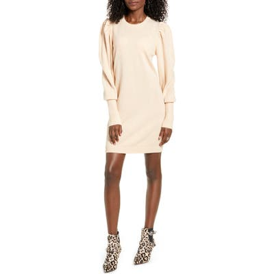 Wayf X Influencers San Francisco Puff Sleeve Sweater Dress