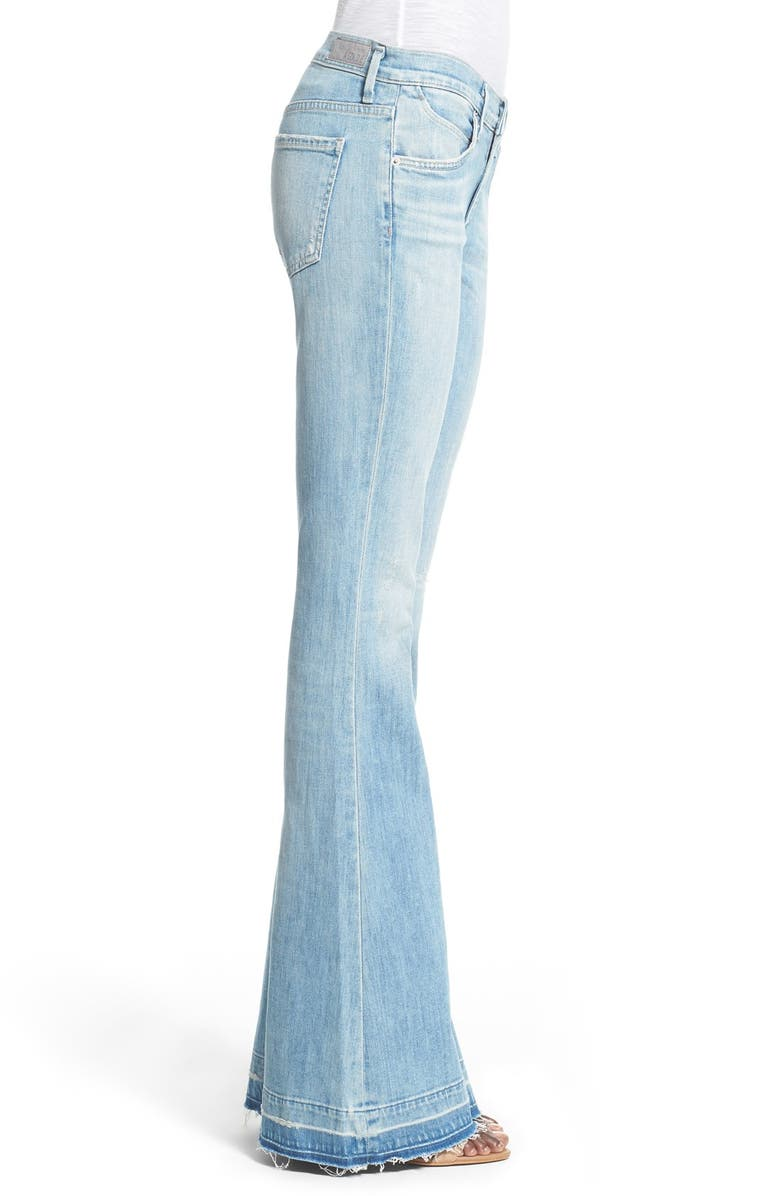 ec832984f04351 A Gold E 'Madison' Ultra Flare Jeans (Blue Lagoon) | Nordstrom