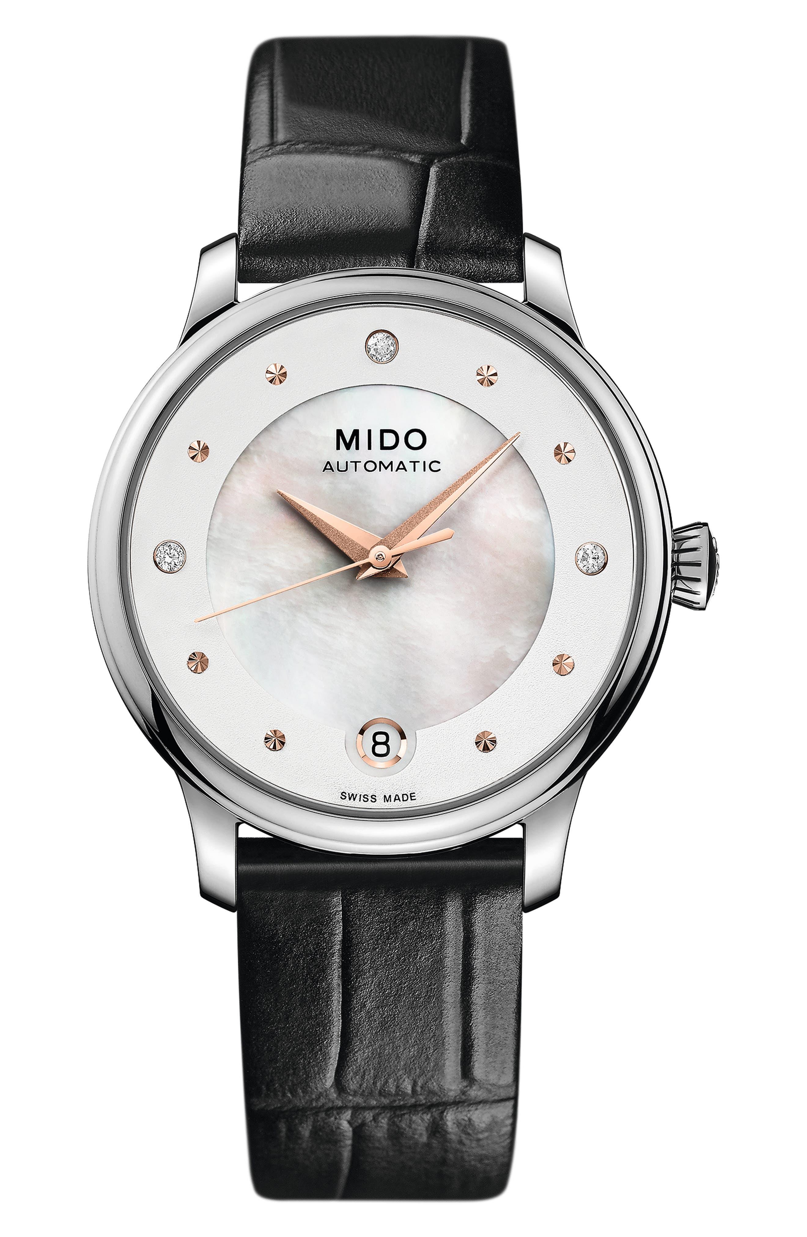 Baroncelli Ii Automatic Diamond Bracelet Watch